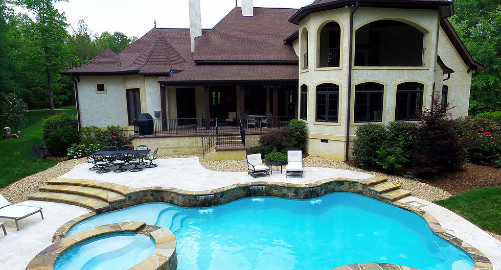 Professional Charlotte North Carolina Concrete Pool Builders At CPC Pools Can Build Your Dream Pool
