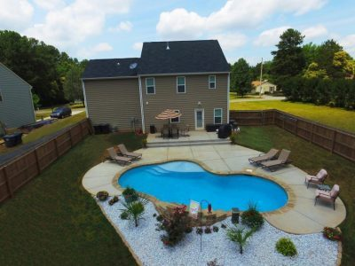 Carolina Pool Consultants Starts Construction On Another Beautiful Pool